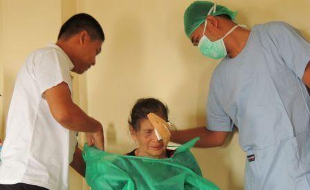 77 Pasien Katarak dan Pteregyum Berhasil Dioperasi
